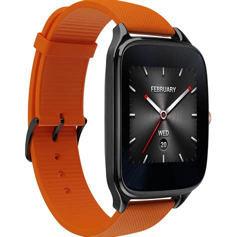 Smartwatch Zenwatch 2 asus zenwatch 2 android wear smartwatch orange leather