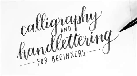 lettering tutorial for beginners the ultimate hand lettering tutorial for designers