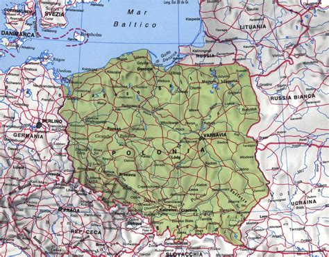 libro maps polonia cartina geografica pictures to pin on tattooskid
