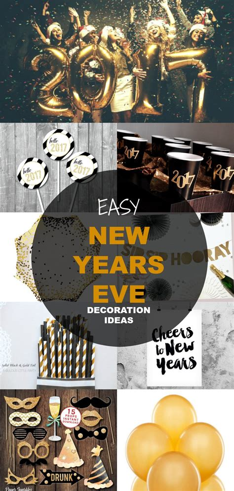 21 new years eve decoration ideas free sewing patterns
