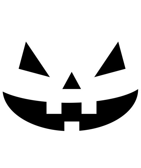 templates for jack o lantern carvings 8 pumpkin carving stencils real simple