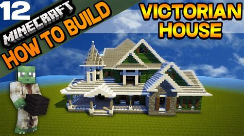 how to build a victorian house minecraft victorian house how to build e12 youtube