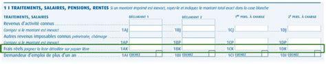 Declaration Impot Frais Reel 5347 by Declaration Impot Frais Reel Modele Lettre Impot Frais