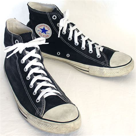 Converse All High Abubox Converse all black converse high tops size 8 offerzone co uk