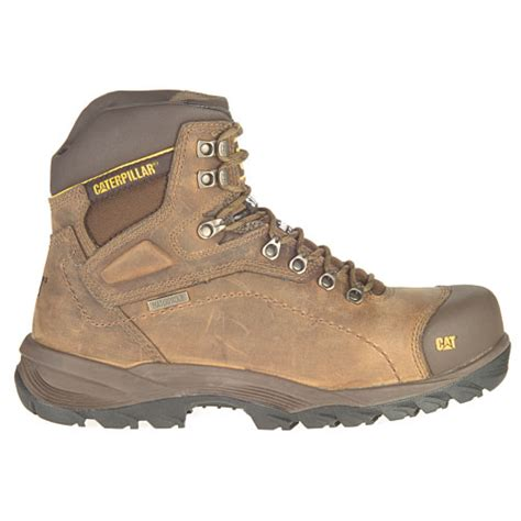 caterpillar s diagnostic steel toe waterproof boot caterpillar diagnostic hi steel toe s work boot