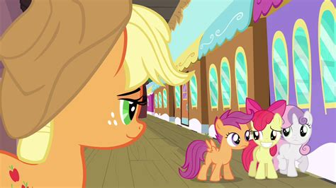 ordinary magic vignettes from the big apple books image apple bloom awkward smile s3e4 png my