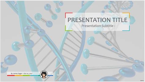 Free Dna Powerpoint 56657 Sagefox Powerpoint Templates Dna Powerpoint Template