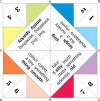how to make a chatterbox template cootie catchers print out printable paper fortune tellers