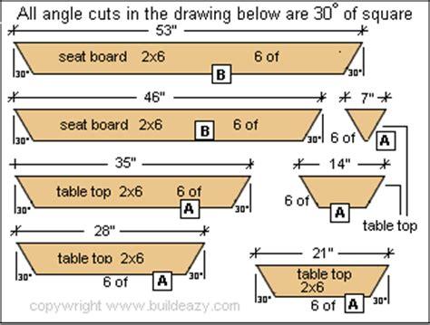 Woodwork Building Plans Hexagon Picnic Table Pdf Plans