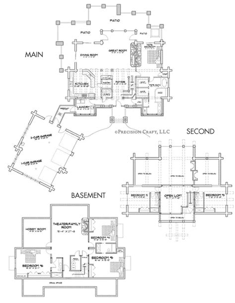 woodhaven floor plan woodhaven log home floor plan