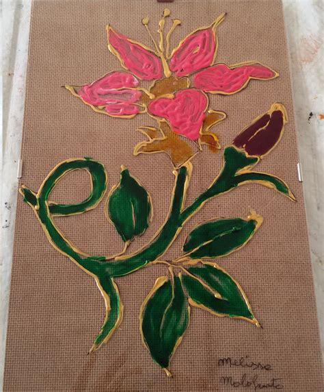 pittura fiori la pittura su vetro un mondo a colori