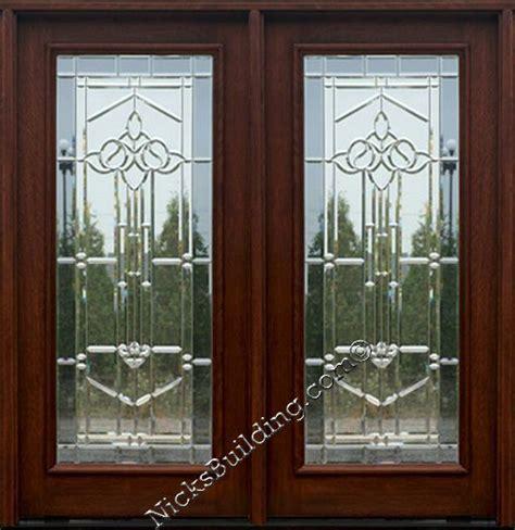 beveled glass doors exterior door door with glass door patio door