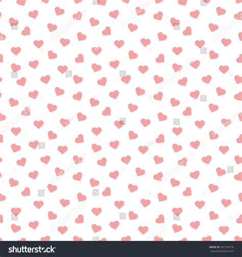seamless heart pattern vector seamless heart pattern background stock vector 432134716