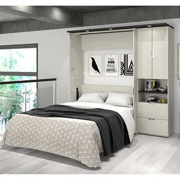 full wall bed lumina full wall bed with one 23 5 quot storage