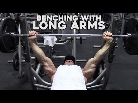 How To Bench Press With Long Arms For Taller Guys Yourepeat