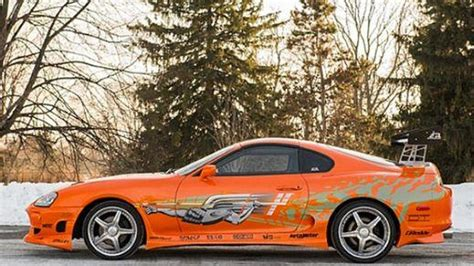 Fast And Furious Supra Kit by Paul Walker S Toyota Supra From Fast And Furious Fetches