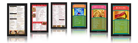 menu board templates pin menu board template on