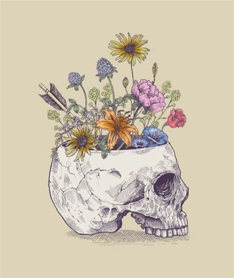 Tattooed Flower Vase by 25 Beautiful Skeleton Ideas On Skeleton