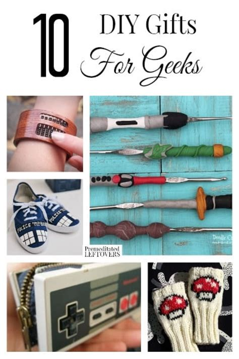 nerdy gifts 10 diy gifts for geeks
