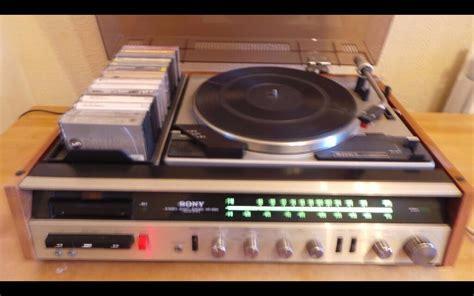 sony hp  vintage hifi stereo system  centre
