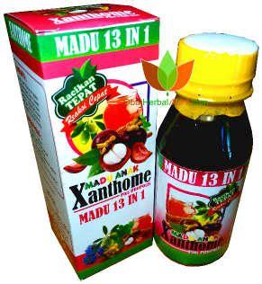 Madu Anak Xanthone 13 In 1 A 1 madu anak xanthome 13 in 1 kulit manggis toko obat herbal di bandung jual grosir