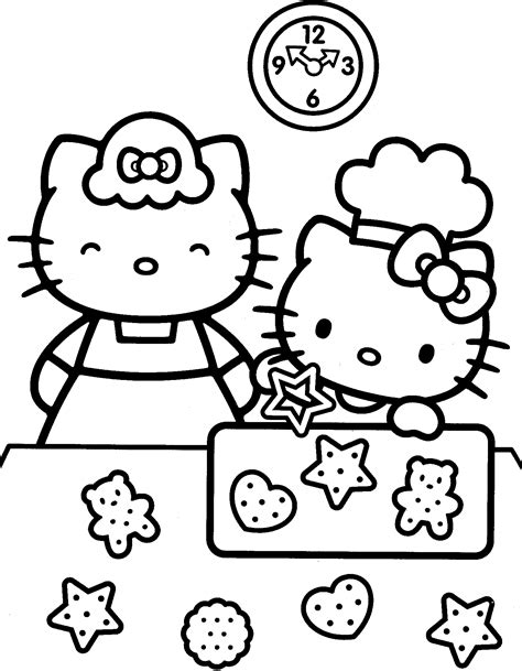 hello kitty fall coloring page 1000 images about coloriage hello kitty hello kitty