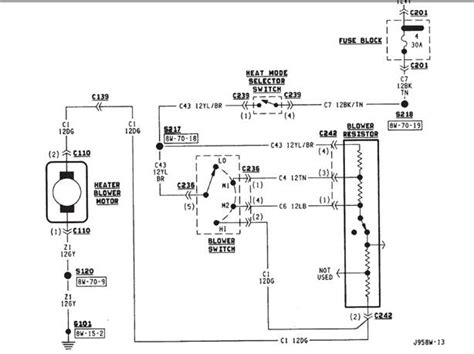 blower motor wiring diagram efcaviation