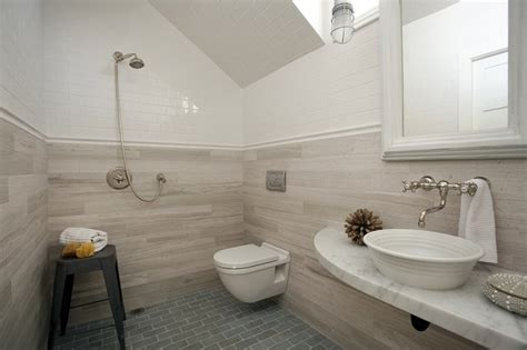 concord green home style bathroom boston by