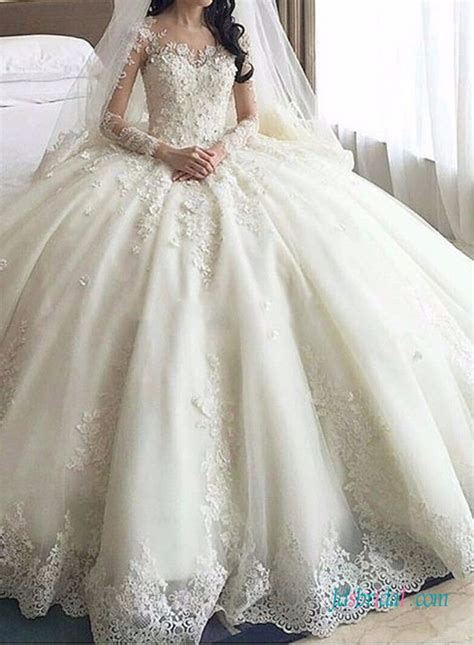 spezielle hochzeitskleider h1389 dreamy cathedral princess gown wedding