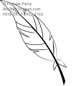 coloring pages of indian feathers indian feather clipart clipart suggest