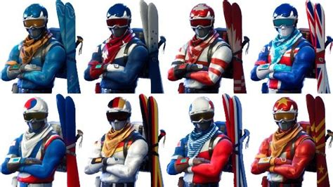 what fortnite skins are out what to do if your fortnite alpine ace skin is missing