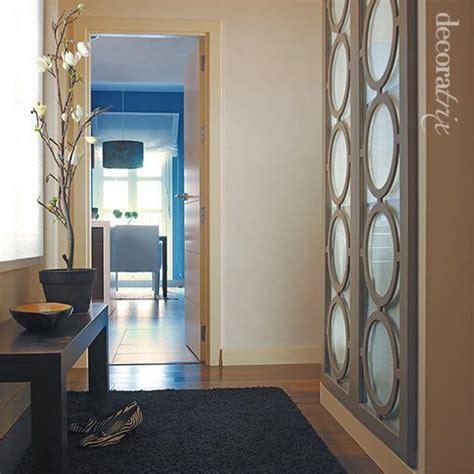 armarios  separar el recibidor del salon