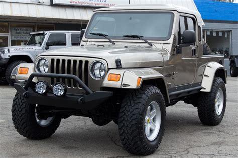lj jeep truck 2014 jeep wrangler unlimited rubitrux conversion