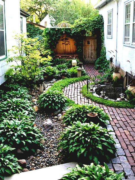simple landscaping ideas around house garden and patio