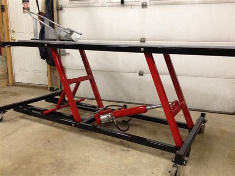 Http Www Homemadetools Net Forum Motorcycle Lift Table Motorcycle Lift Tables
