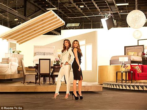 Rooms To Go Model by Sofia Vergara And Eye Each Other Up In