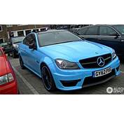 You Cant Miss It Mercedes Benz C 63 AMG Coupe
