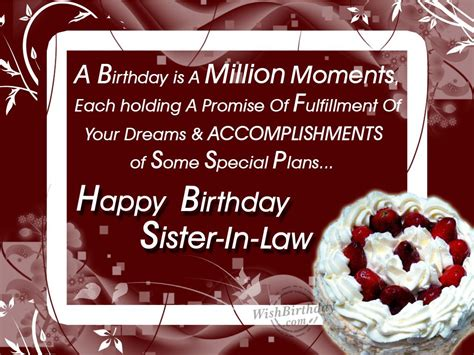 40 Birthday Wishes For Sister In Law 2016 Birthday