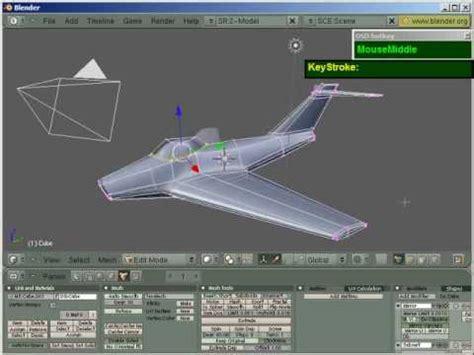 blender tutorial aircraft blender jet plane modeling in under 10 minutes no
