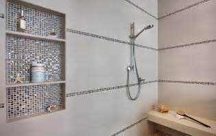 how make shower niches work for you the bathroom inspiration mid sized farmhouse master remodel