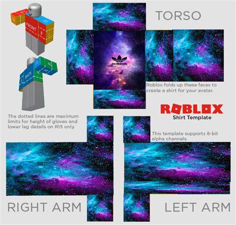 Roblox Galaxy Adidas Shirt Freetoedit Roblox Shirt Design Template