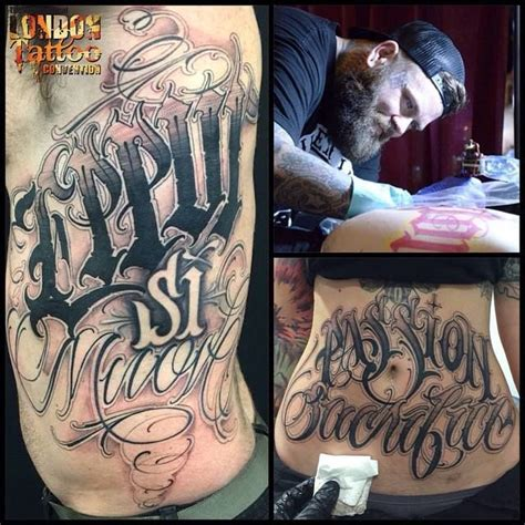 tattoo london lettering 27 best images about big meas on pinterest