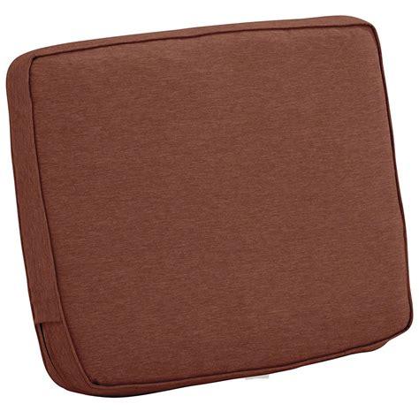 25 x 20 Patio Chair Back Cushion in Outdoor Cushions