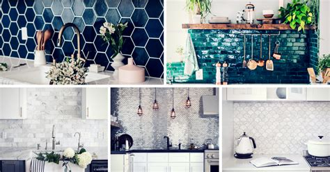 Blue And Green Bathroom Ideas 20 Kitchen Backsplash Ideas That Totally Steal The Show
