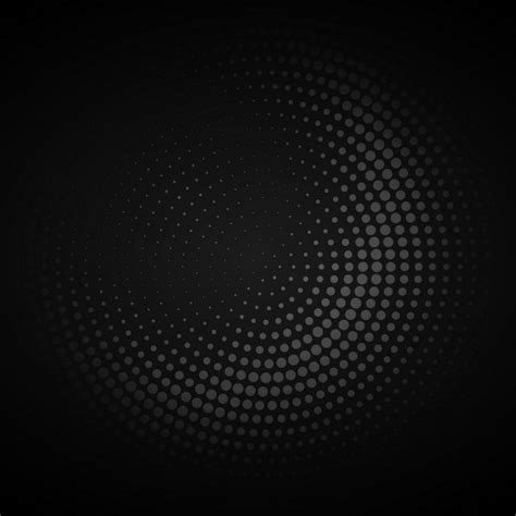 wallpaper vector dark dark circular halftone background vector free download