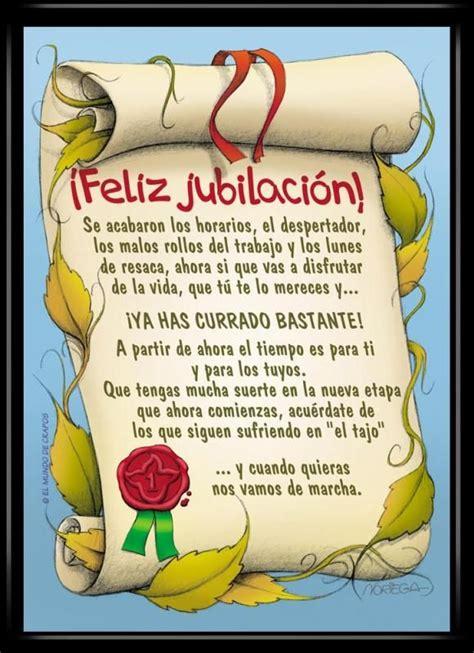 dedicatorias para jubilacin graciosas feliz jubilaci 243 n buscar con google tarjetas