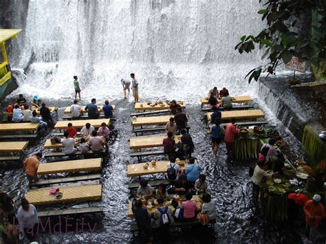 villa escudero waterfalls restaurant waterfalls restaurant at villa escudero quezon province