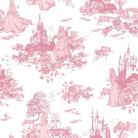 disney toile wallpaper licensed cotton fabric princess toile jo ann