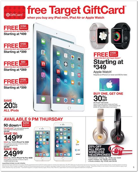 Target Gift Card Black Friday - best black friday 2015 ipad deals