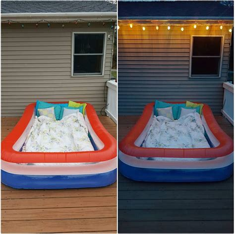 backyard blow up pools genius outdoor summer ideas for kids crafty morning